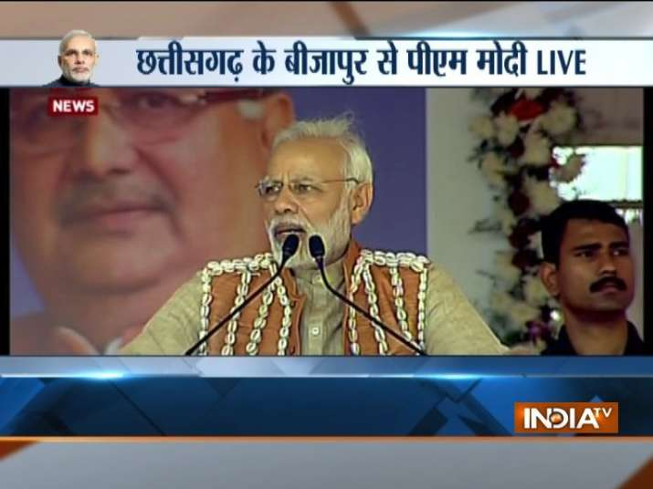 PM Narendra Modi in Bijapur