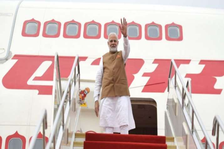 PM Modi departs for India