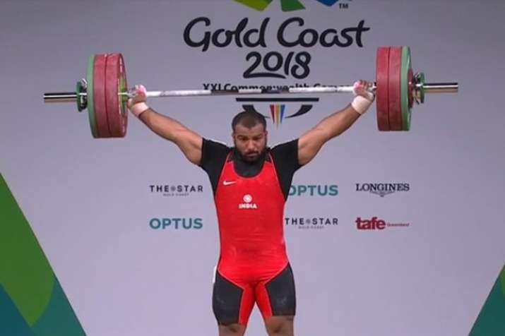 Image result for pradip singh 105kg weightlifting commonwealth