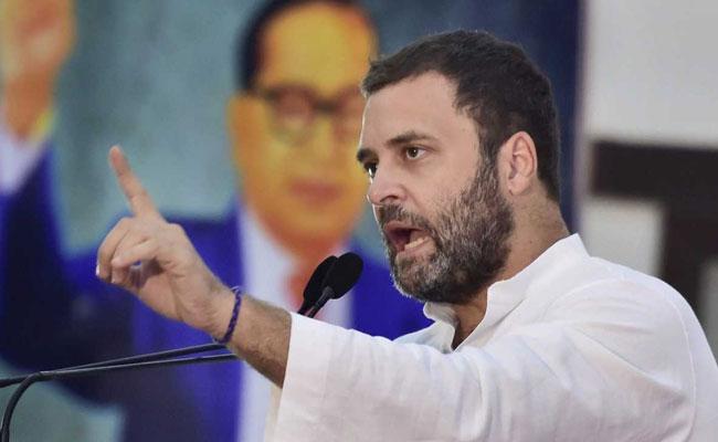 Congress President Rahul Gandhi - File Photo