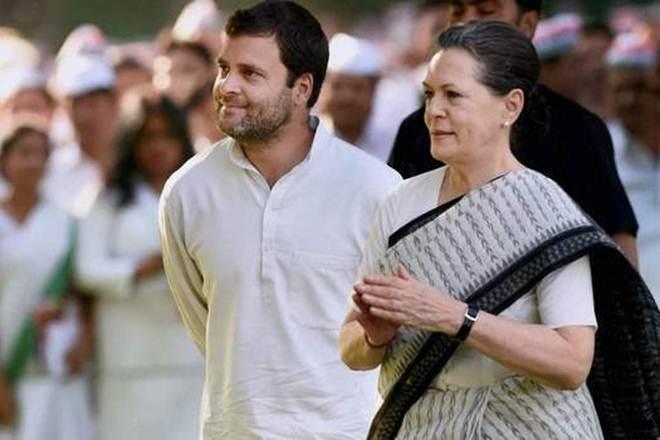 Congress president Rahul Gandhi and his mother Sonia Gandhi
