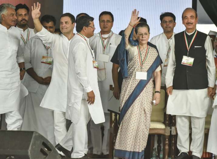 Congress' 'Jan Akrosh'  rally was attended by senior party