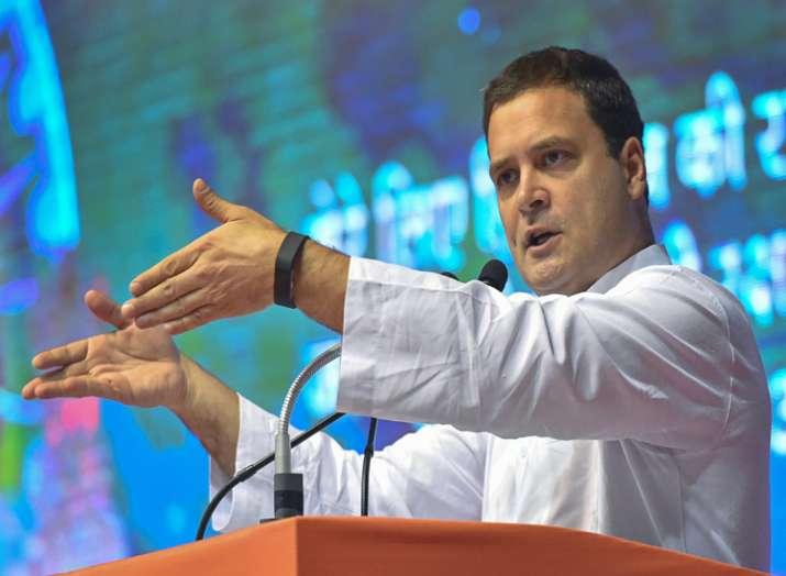 Congress president Rahul Gandhi. (File Photo)