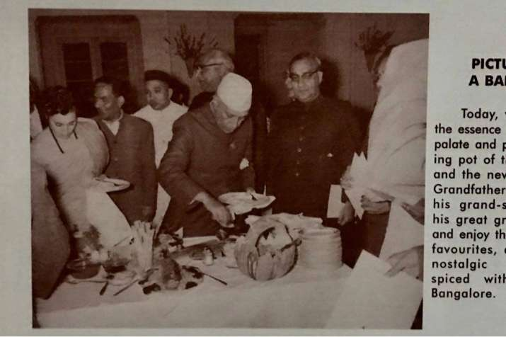 India Tv - The Koshys staff share pictures of Former Prime Ministers Nehru ji and Indira ji dining at their establishment.