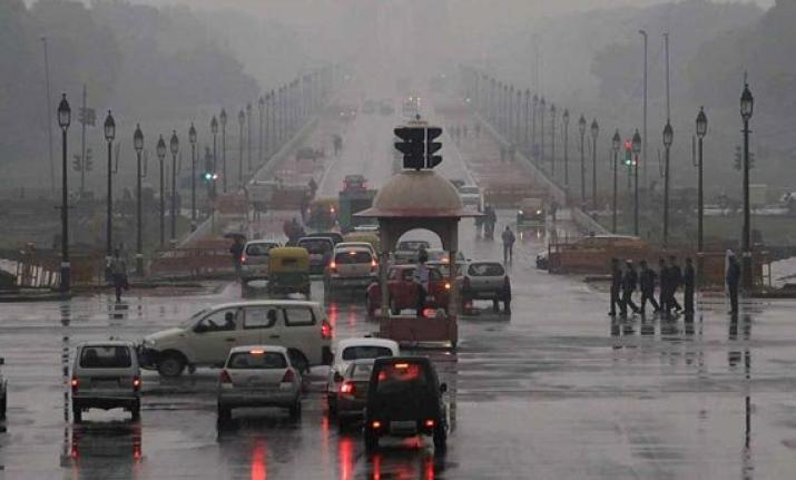 Light rain breaks Delhi's dry spell