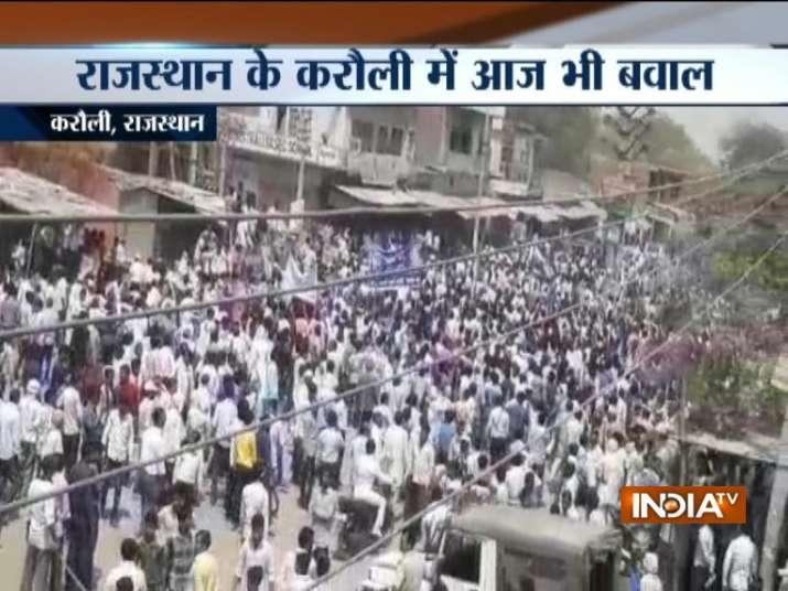 Curfew imposed in Rajasthan's Hindaun following violent