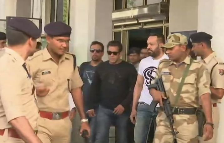 India Tv - Actor Salman Khan will be present at Jodhpur court at the time of verdict.