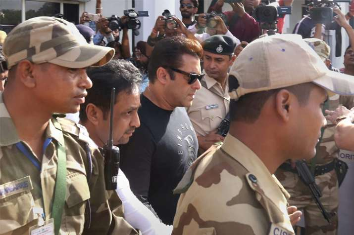 Salman Khan sentenced to five years in jail in blackbuck