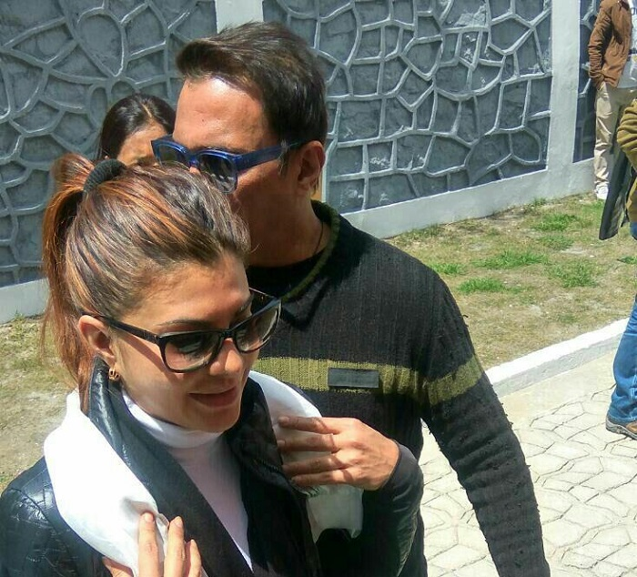 India Tv - Salman Khan and Jacqueline Fernandez in Leh