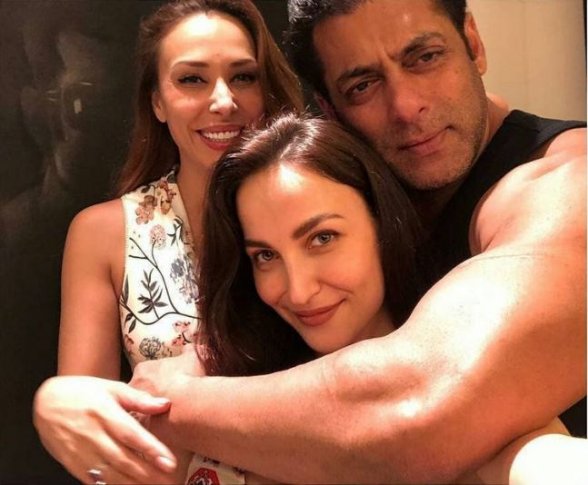 India Tv - Elli Avram Iulia Vantur and Salman Khan