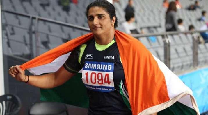 India Tv - Athletics: Seema Punia