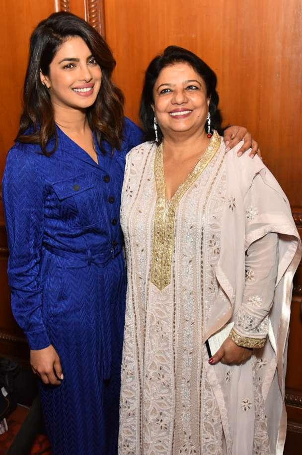 India Tv - Priyanka Chopra with mother
