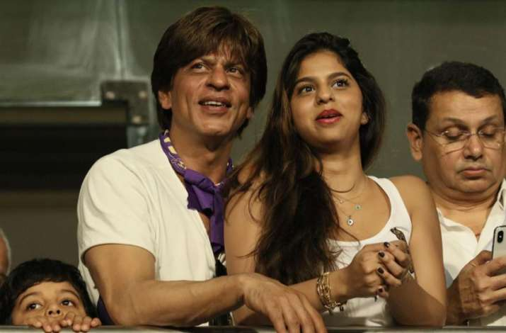 India Tv - Shah Rukh Khan was with his family at Eden Gardens