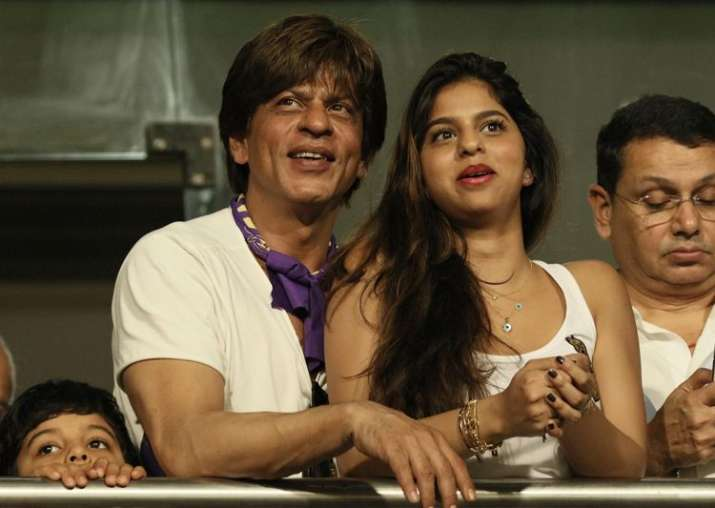 India Tv - Shah Rukh Khan with daughter Suhana Khan