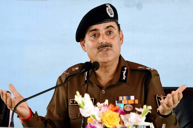 BSF DG K K Sharma - File Photo