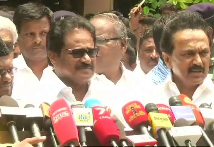 DMK announces shutdown across the state on 5 April, we