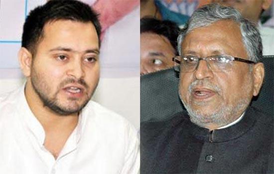 Twitter battle: Tejashwi Yadav, Sushil Modi exhcnage