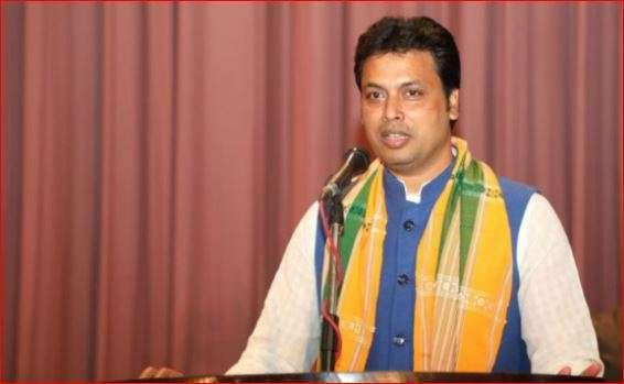 Tripura CM Biplab Deb. (Filr Photo)