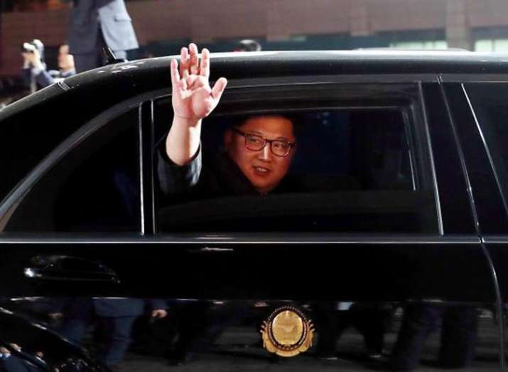 India Tv - According to media reports, Kim Jong-un carries his toilet wherever he travels.