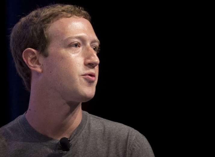 Facebook founder and CEO MarkZuckerberg.