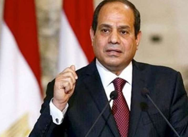 Abdel Fattah al-Sisi sworn in today for a second four-year