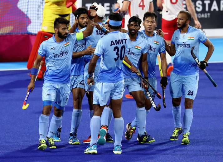 Commonwealth Games 2018: India men's hockey team return