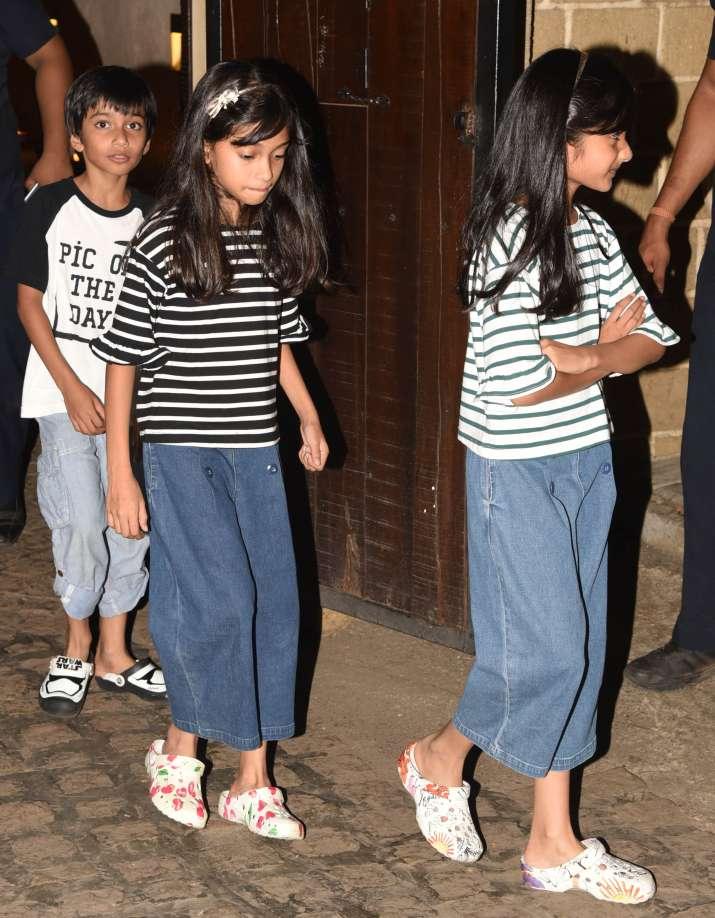 India Tv - Farah Khan's kids