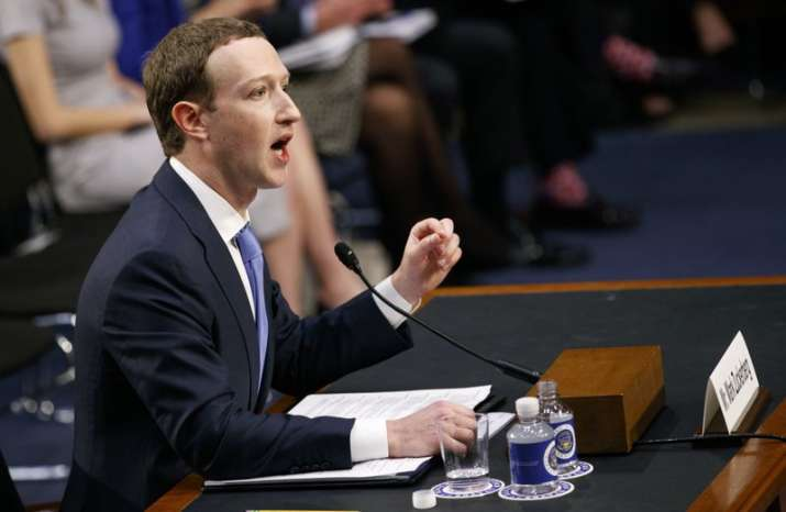 Mark Zuckerberg testifies before a joint hearing of the