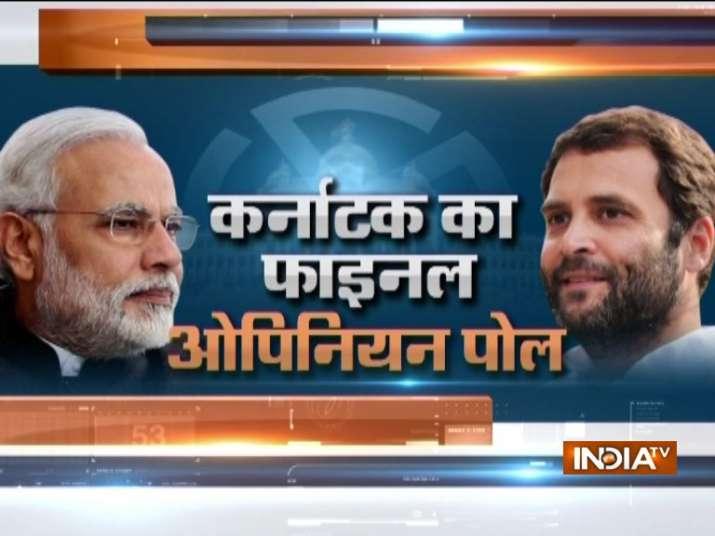 IndiaTV Final Opinion Poll on Karnataka Elections