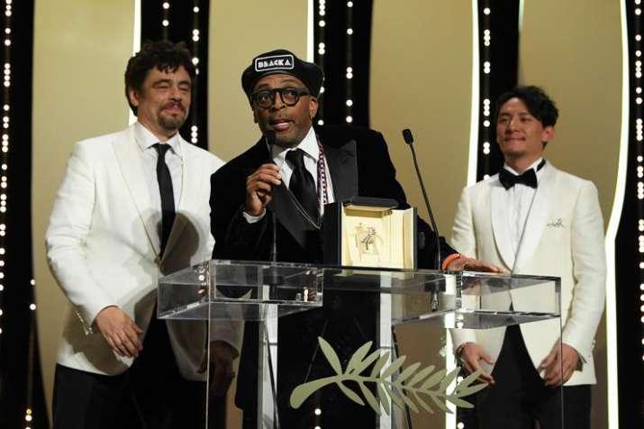 American director Spike Lee'sBlacKkKlansmanwins Grand