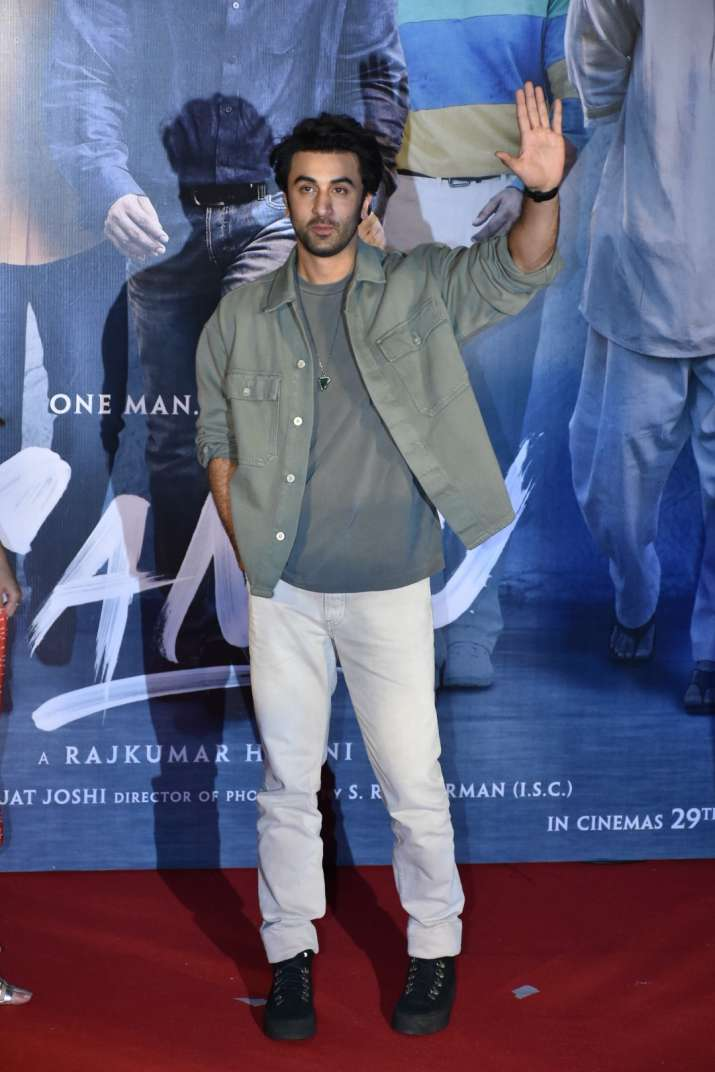 India Tv - Ranbir Kapoor at Sanju trailer launch
