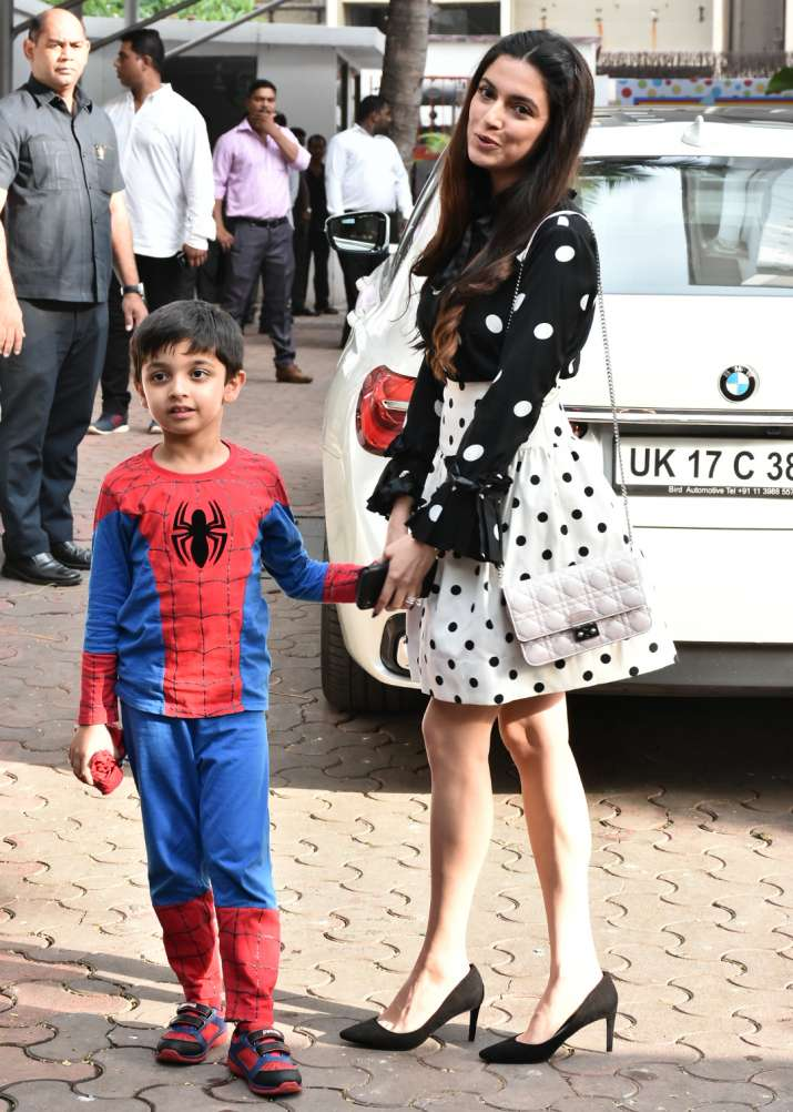 India Tv - Divya Kumar Khosla and her son
