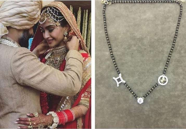 Sonam Kapoor Ahuja's personalised 'Mangalsutra' has a hidden