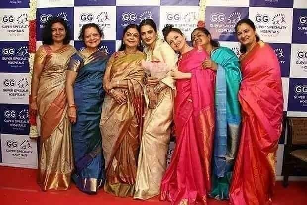 Image result for rekha sisters