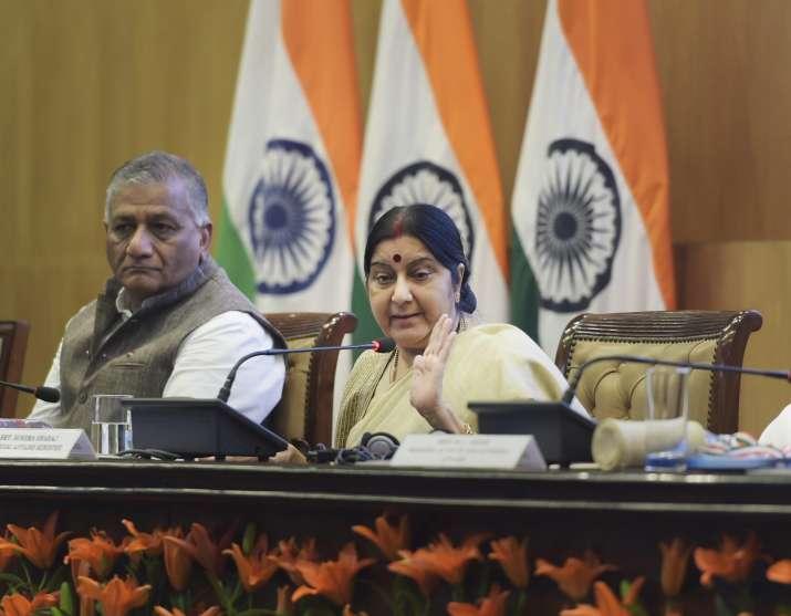 'World praised us on Doklam issue', Sushma Swaraj assures of status quo on India-China dispute site