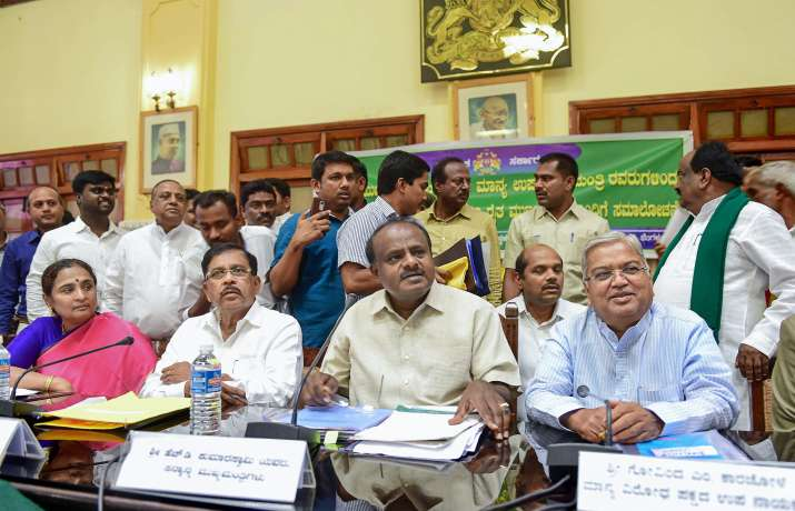 alliance finalise the power sharing arrangemnts, JD-S