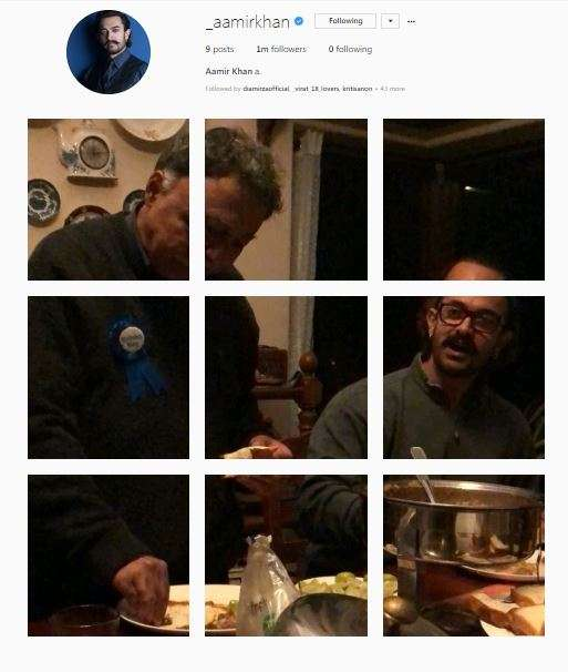 India Tv - Aamir Khan's photo grid with Mansoor Khan on his birthday.
