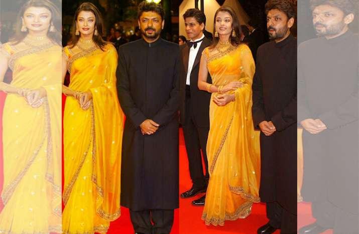 India Tv - Aishwarya Rai at Cannes Film Festival 2002