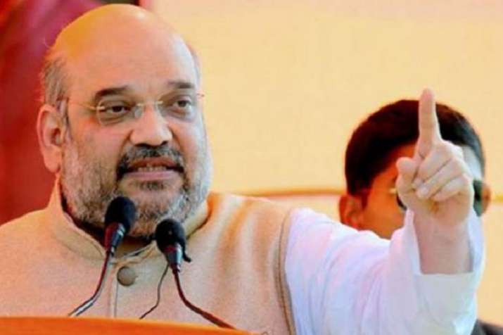 BJP chief Amit Shah's convoy attacked by TDP activists in