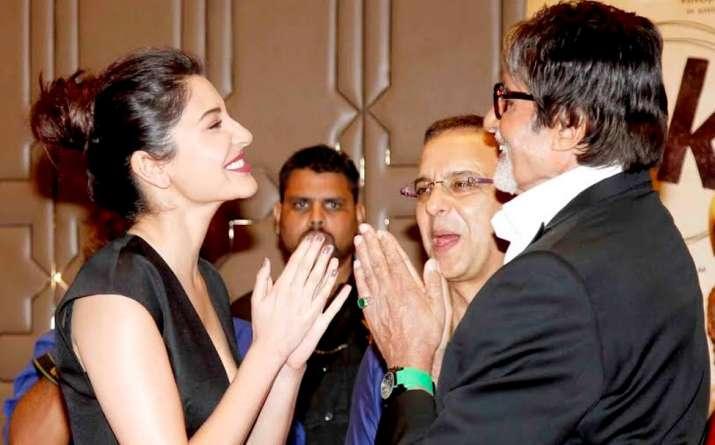 Amitabh Bachchan birthday wish for Anushka Sharma