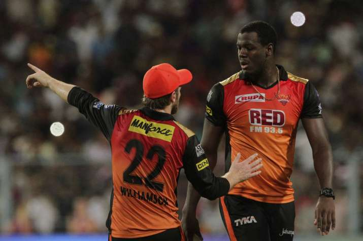 India Tv - Carlos Braithwaite all-round showmanship can stun CSK