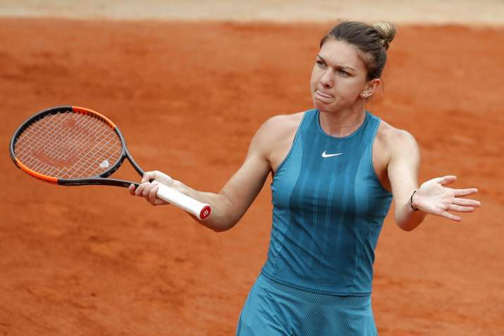 India Tv - Simona Halep advances at the French Open