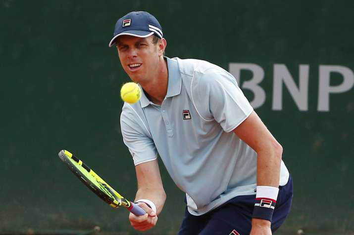 India Tv - Sam Querrey during the French Open