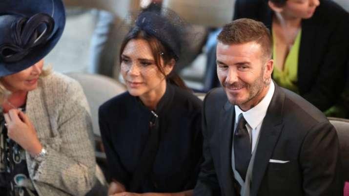 India Tv - David Beckham at the Royal wedding