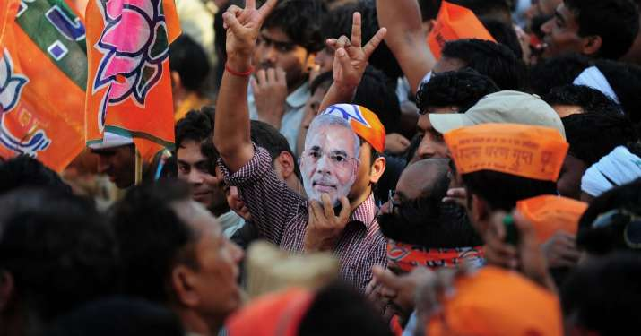 With 274 seats in hand, BJP enjoyed 50.83% majority in Lok