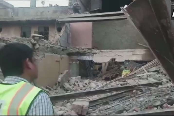 Delhi: Under-construction banquet hall collapses in