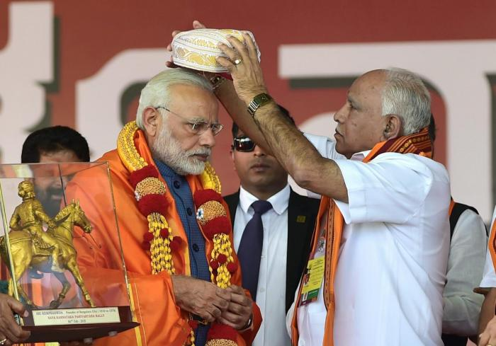 India Tv - B SYeddyurappa–BJP's CM candidate in the state – is a stalwart in the Lingayat community