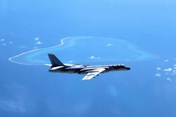 China's air force said that its fighter jets, including an
