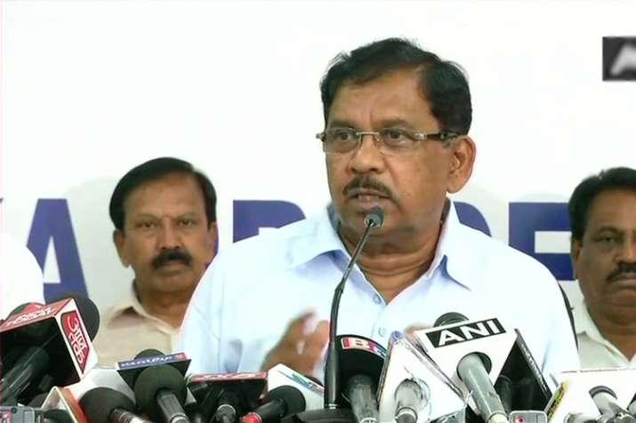 Karnataka Deputy Chief Minister G Parameshwara