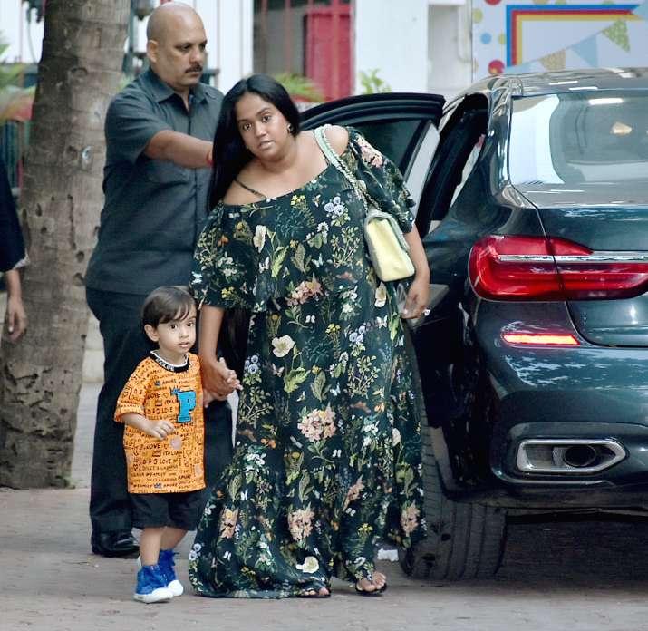 India Tv - Arpita Khan Sharma and Ahil